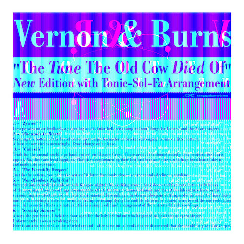 Gavin Weiss Mastering Vernon & Burns ‎– The Tune The Old Cow Died Of